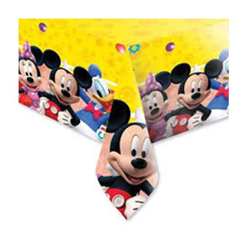 Mantel 120x180 Mickey plástico