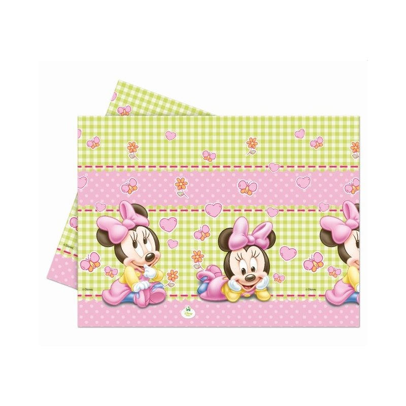 Mantel 120x180 Minnie baby pl stico