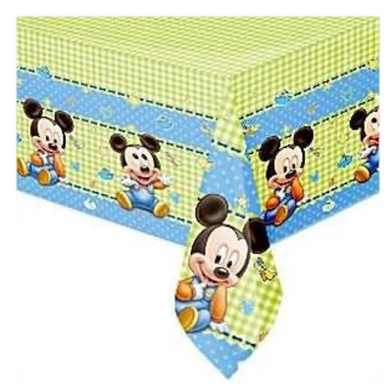 Mantel 120x180 Mickey baby plstico