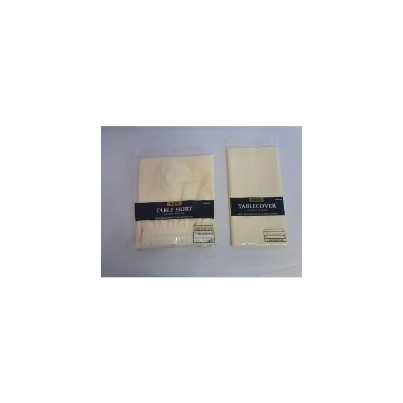 Mantel 135x270 cm.vainilla plstico