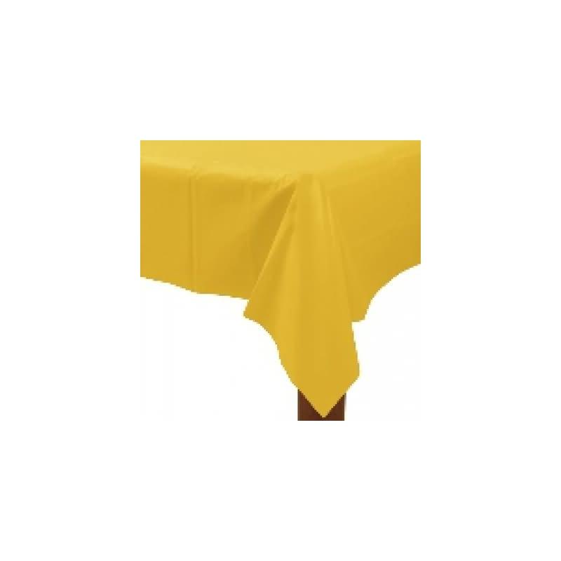 Mantel 135x270 cm.amarillo plstico