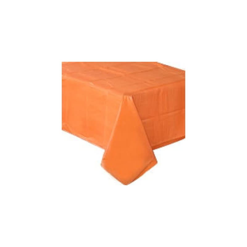 Mantel 135x270 cm.naranja plstico