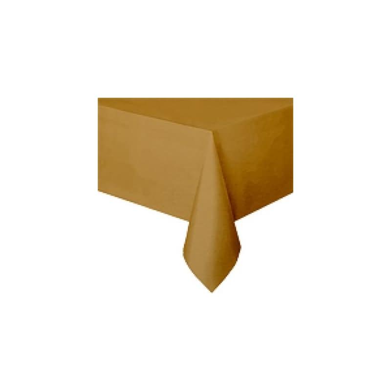 Mantel 135x270 cm.oro plstico