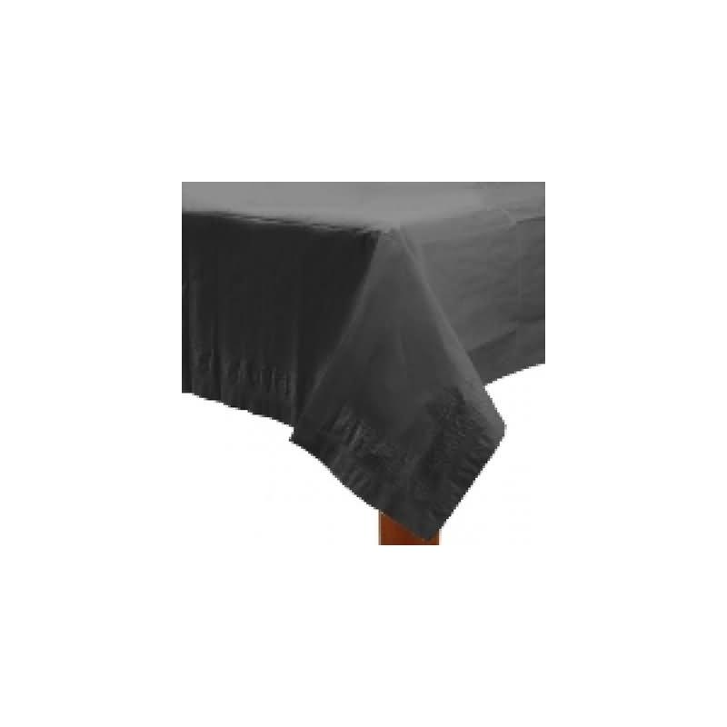 Mantel 135x270 cm.negro plástico