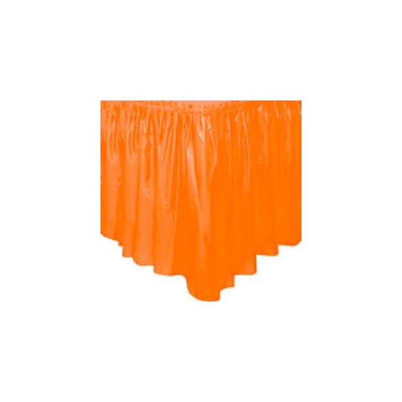 Fald¢n mesa naranja plstico