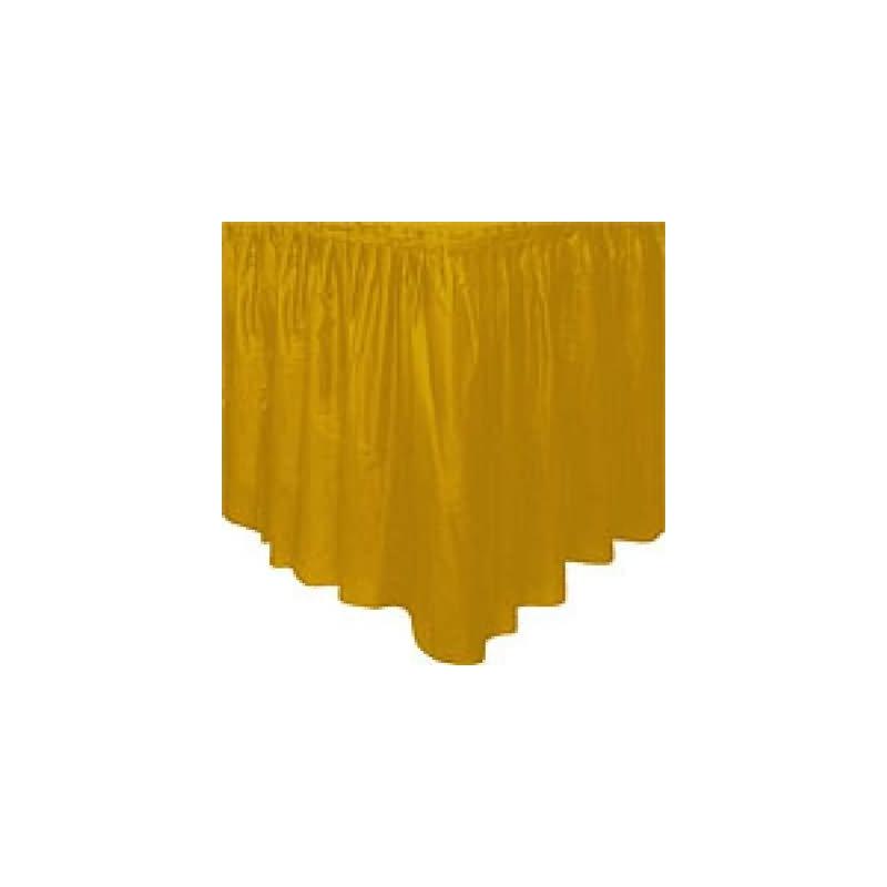 Fald¢n mesa oro plstico
