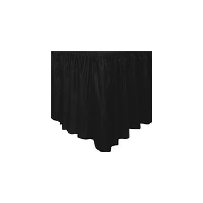 Fald¢n mesa negro plstico