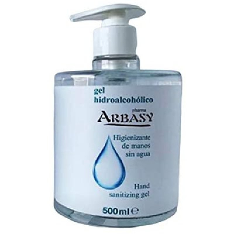 Gel higienizante Arbasi 500 ml.