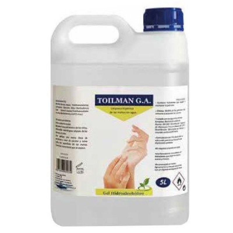 Gel hidroalcoholico 5 l.