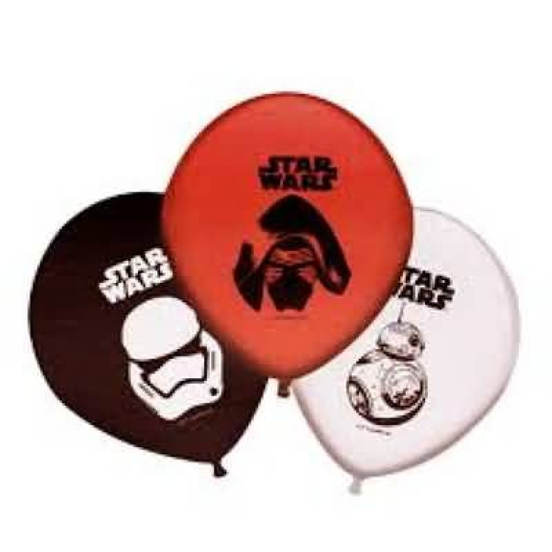 Globos Star Wars 8 unid.