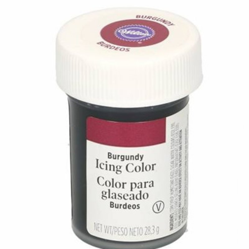 Colorante burdeos 28 gr.Wilton